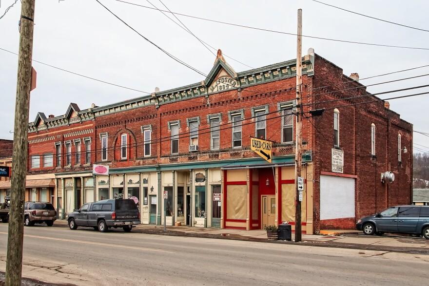 Street Front, Scio, Ohio