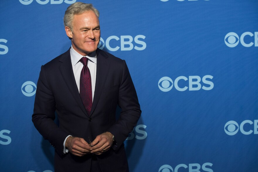 This May 15, 2013 file photo shows Scott Pelley at the CBS Upfront in New York. (Charles Sykes/Invision/AP, File)