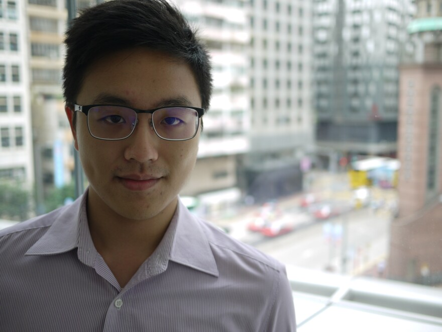 William Hon of Liquidnet was born and raised in Hong Kong. He says he's working on improving his Mandarin skills to compete with a flood of mainland Chinese bankers with overseas degrees.