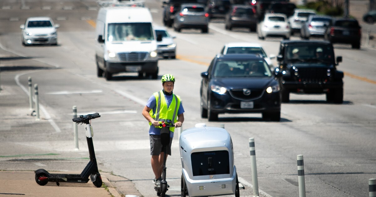 Robots Have Arrived To Austin, And They're Delivering Pizza