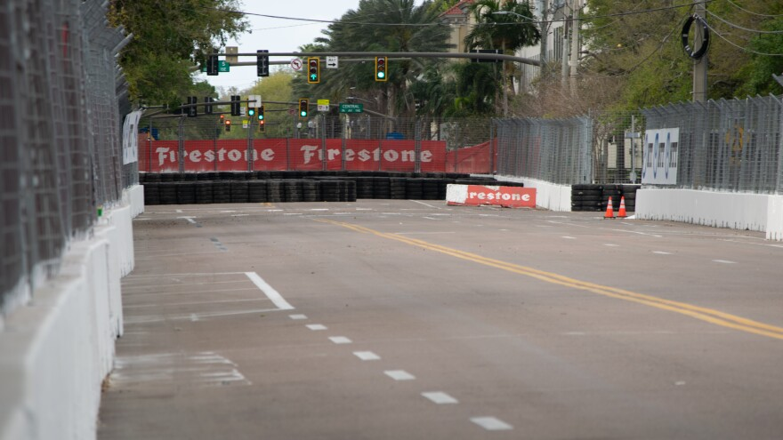 Officials canceled the St. Petersburg Grand Prix to prevent the spread of coronavirus.