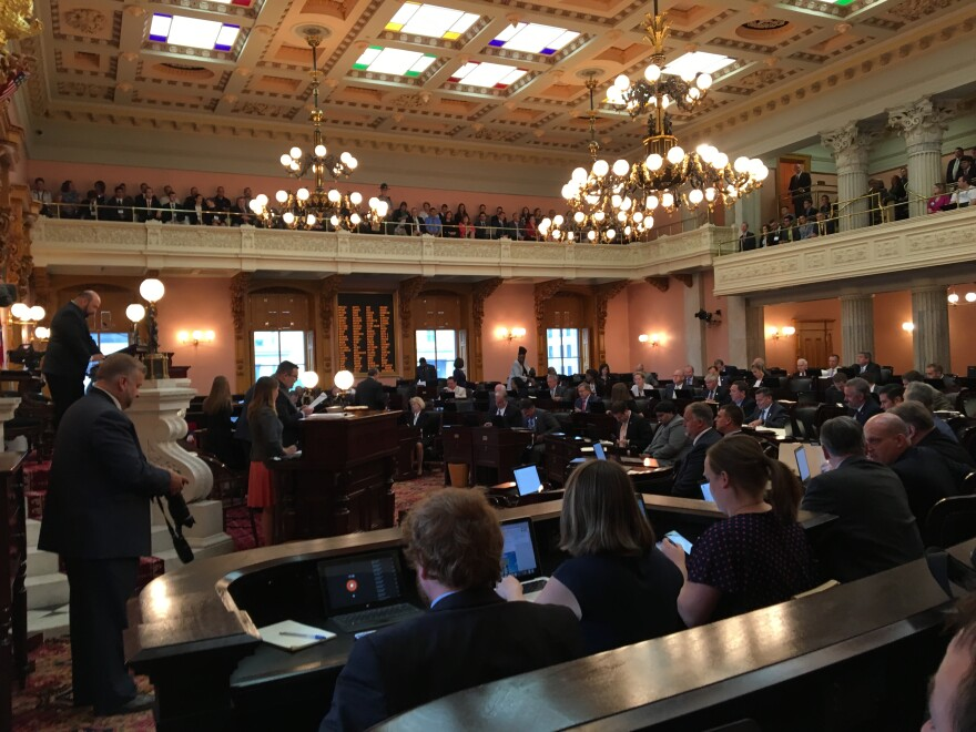 photo of Ohio House Chamber