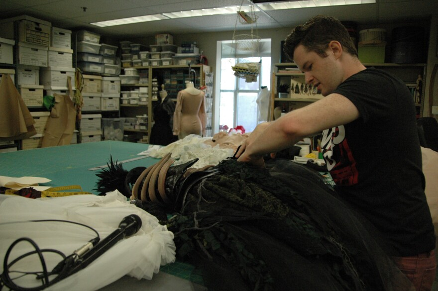 Dracula: Bloodlines production and costume designer Ray Zupp