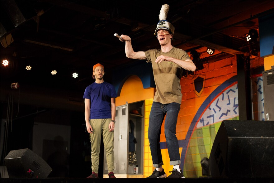 Using quick costume changes, Garrett Young and Jordan Moore play all the characters in the 85-minute show. Jan 23, 2020