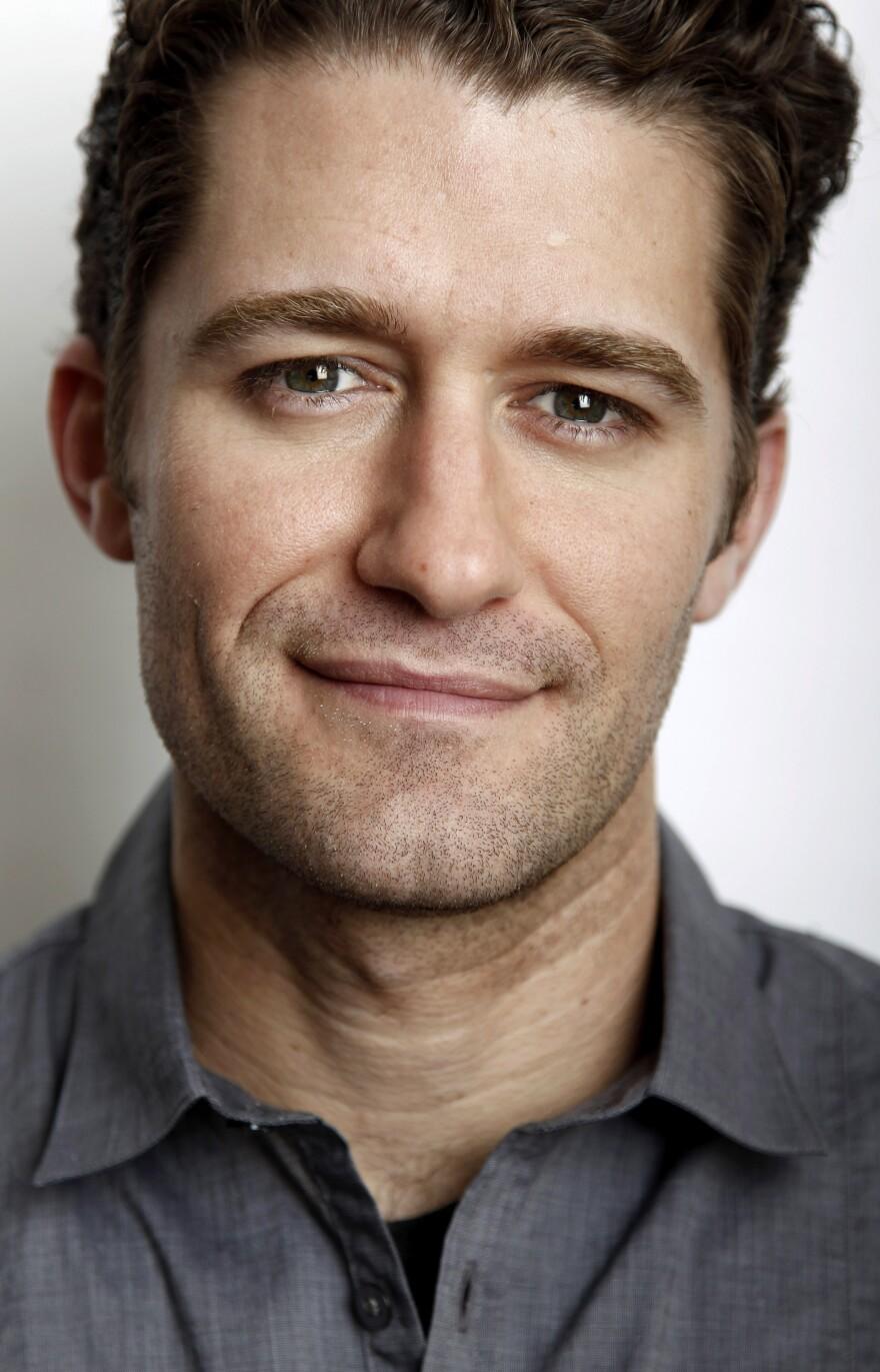 Actor Matthew Morrison.