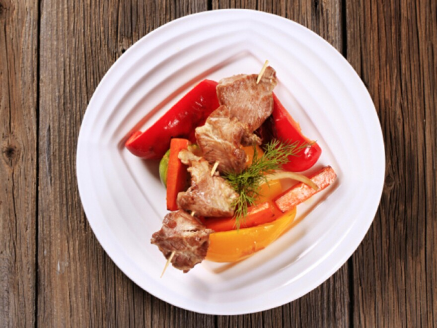 Epidemiologists say venison kabobs should be cooked carefully so that no harmful bacteria lingers.