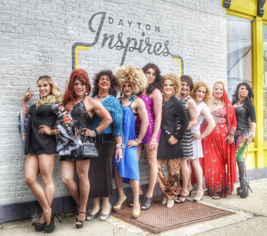 The Rubi Girls are Dayton's charity-driven drag troupe