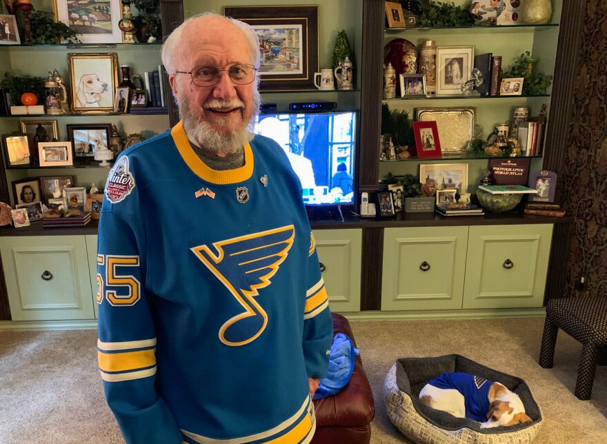 John Oefelein used to be in charge of recruiting referees for hockey games in the St. Louis area. He's purchased season tickets every year of the St. Louis Blues' existence. May 31, 2019