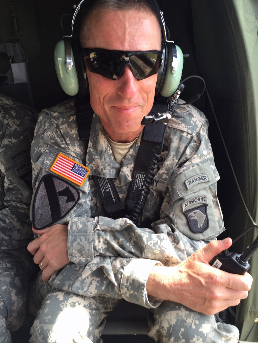 Maj. Gen. Gary Volesky, who commands U.S. forces in Liberia, wants to be sure the military has an exit plan.