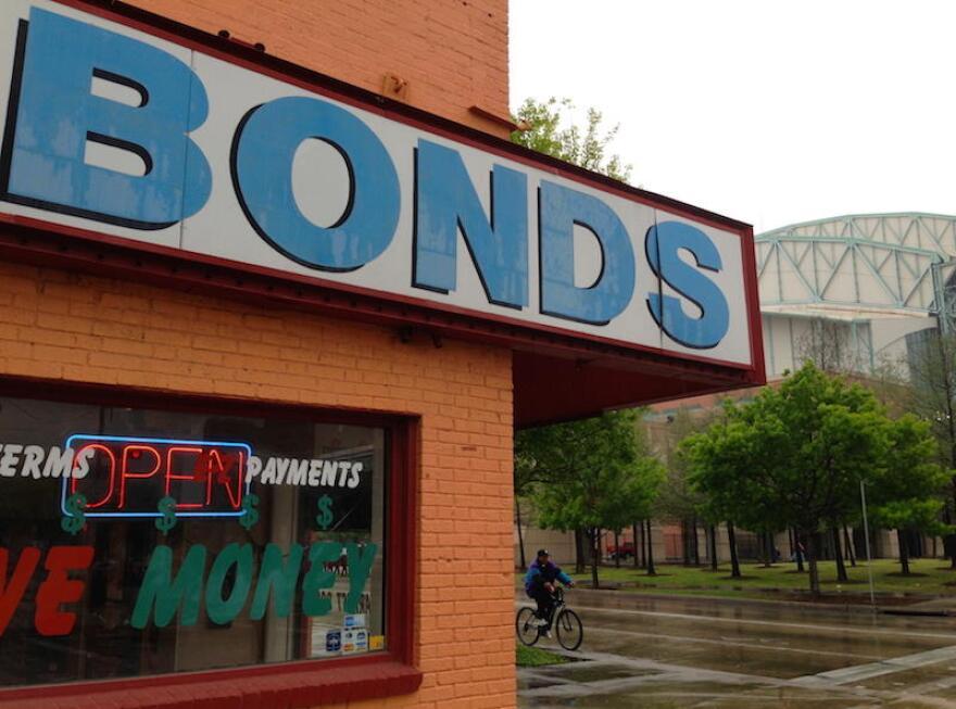 Bail bondsmen are opposing state legislation that would overhaul Texas' bail laws.