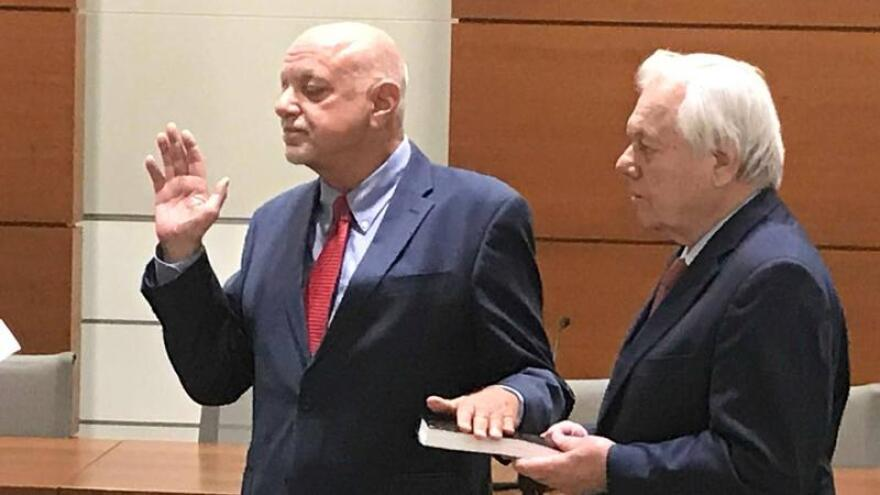 Peter Antonacci, Broward County's new elections supervisor, took questions Tuesday from county commissioners.