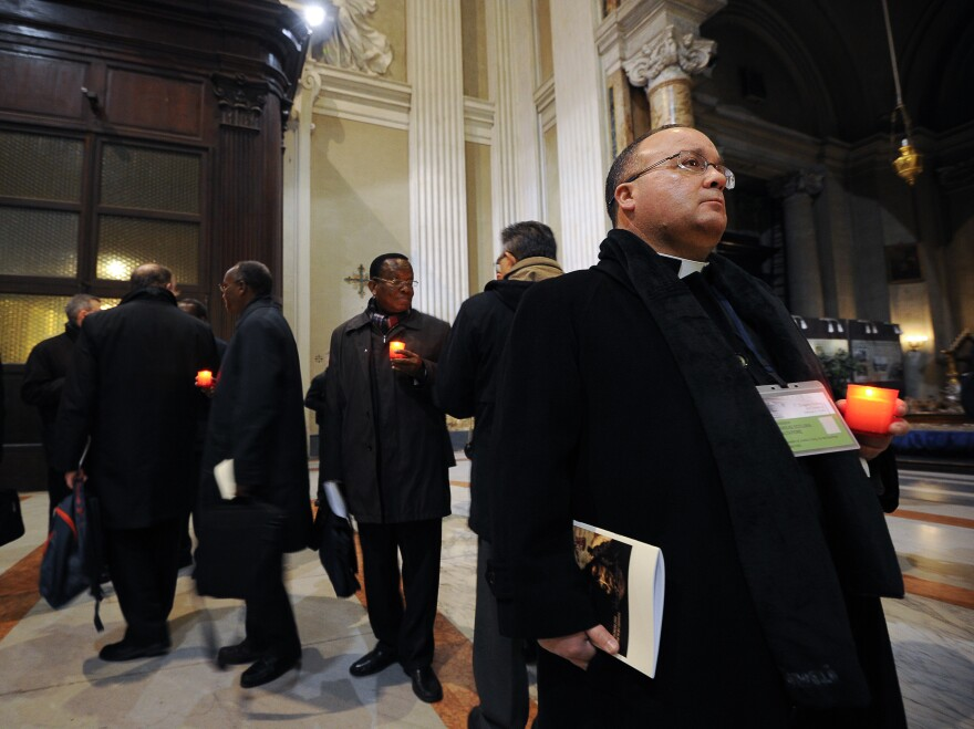 Maltese Bishop Charles Scicluna, shown here in 2012, will travel to Chile to look into survivors' claims. He is the Catholic Church's most respected expert on sex crimes.