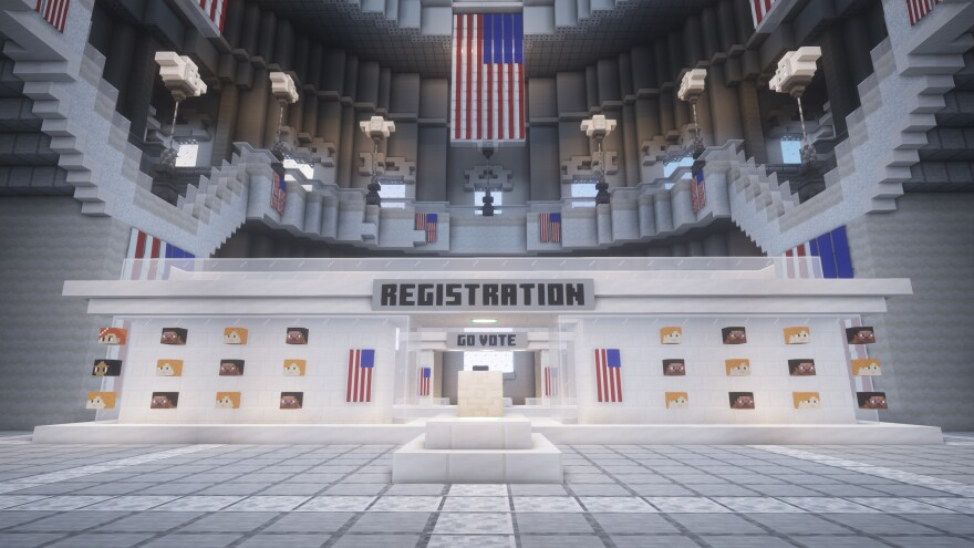 """Players """"register"""" prior to voting."""