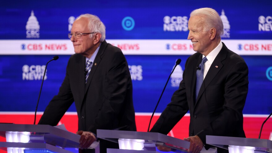 Presidential candidate Bernie Sanders and Joe Biden are adapting to the spread of the coronavirus by changing campaign schedules. Louisiana is delaying its primary by more than two months over coronavirus fears.