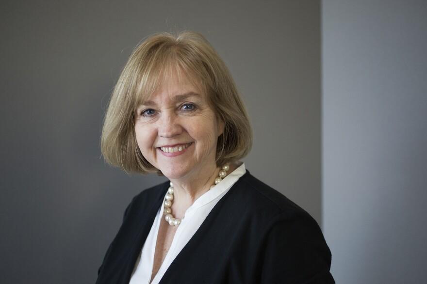 Lyda Krewson in a February 2017 file photo.