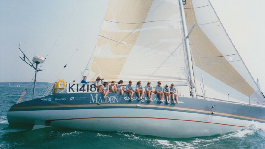 """""""We weren't surprised that there was resistance to an all-female crew in the race ..."""" says Tracy Edwards, who assembled the first all-female crew to enter the Whitbread Round the World Race. """"But I was shocked at the level of anger there was that we wanted to do this, because why is this making you angry?"""""""