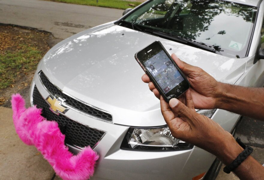 It's not all pink mustaches and fist bumps in the business of on-demand car services.