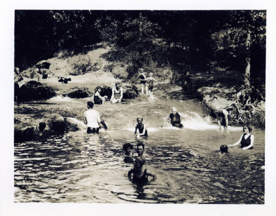 The mineral-rich water at what's now the Chickasaw National Recreation Area has been gathering point for locals, travelers and tribes, says Debbie Sharp, president of the Friends of Chickasaw National Recreation Area.
