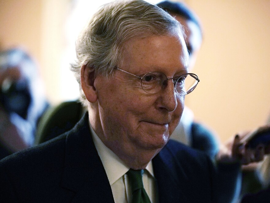"""This bill represents a significant bipartisan step forward,"" Senate Majority Leader Mitch McConnell said Wednesday."