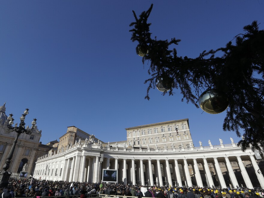 Pope Francis, who delivered a blessing earlier this month at St. Peter's Square, has appointed a woman to a senior diplomatic position.