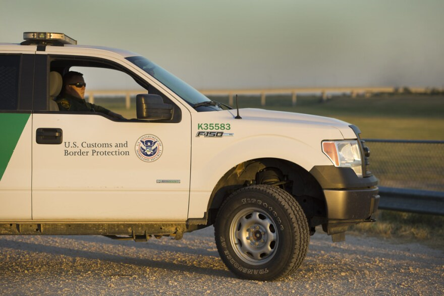 a border control vehicle