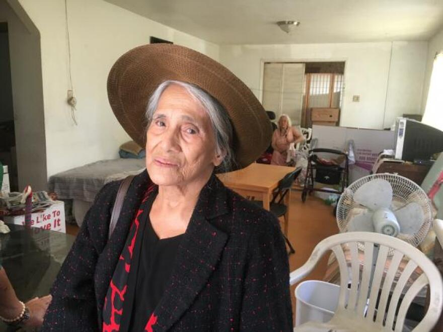 "Helen Balani, 87, is still seeking recognition from the U.S. for her husband's service as a Philippine Scout during World War II. She lives in a modest Los Angeles apartment with two other World War II widows. ""We just want what is due to us,"" she said."