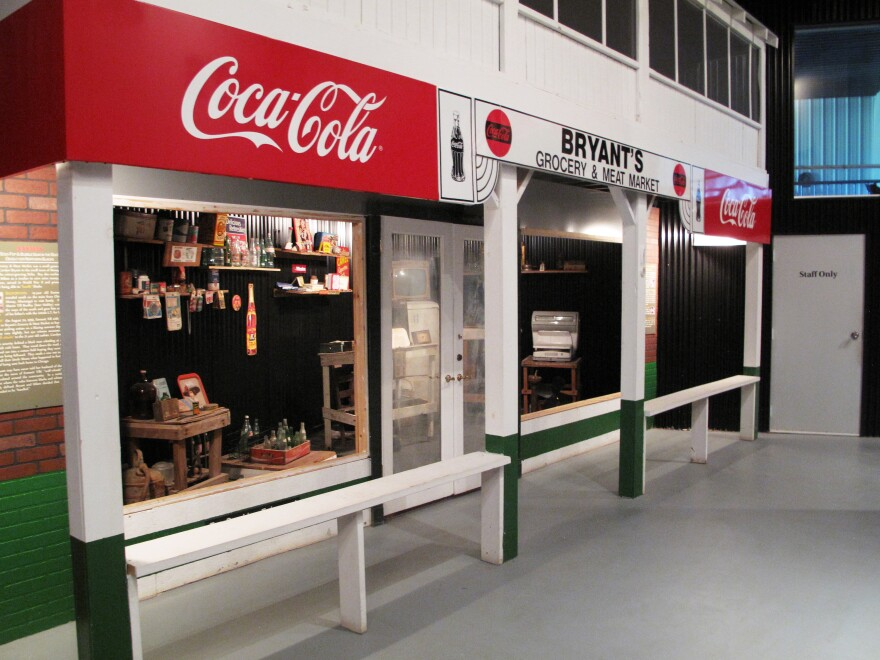 A replica of Bryant's Grocery is part of the Emmett Till Historic Intrepid Center Museum in Glendora, Miss.