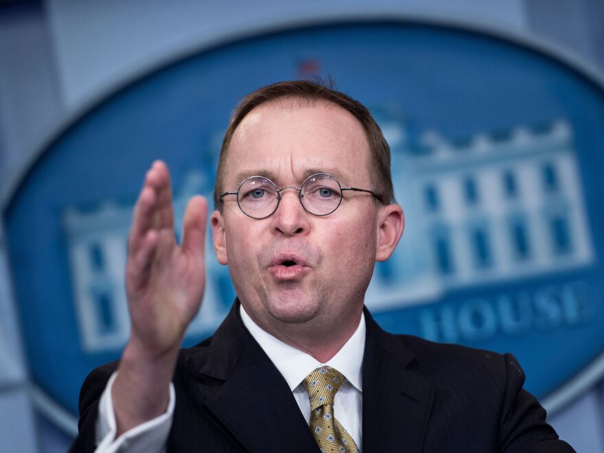 Mick Mulvaney, interim director of the Consumer Financial Protection Bureau, wants to give Congress prior approval of any major new rules created by the bureau.