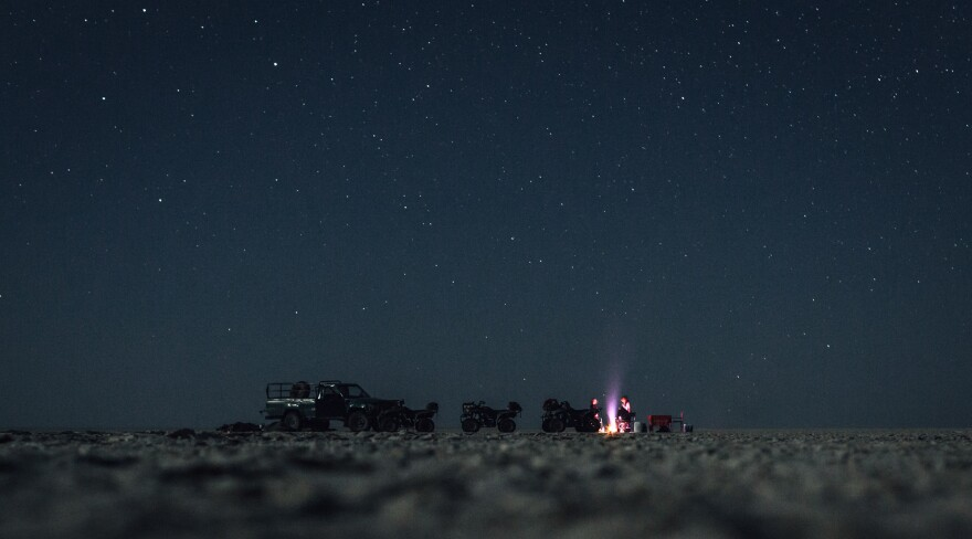 Caitlin McConnico tweeted us this picture taken in early June while camping at Makgadikgadi Pans National Park in Botswana.