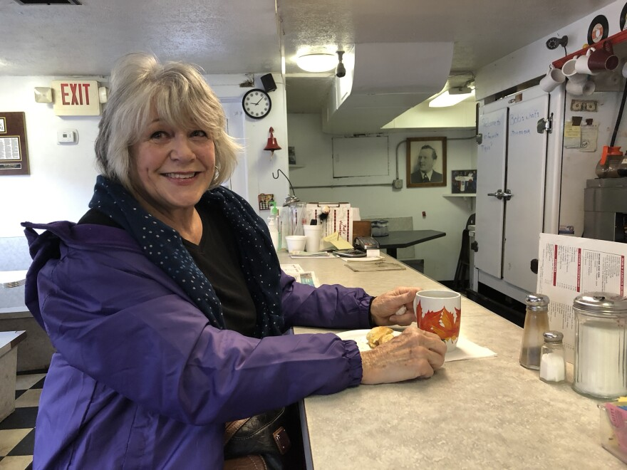 Janet Dunn remembers coming to Bob's back when it's original owner roamed the grill.