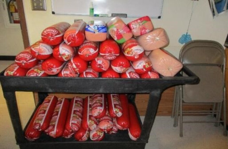 U.S. Customs and Border Protection officers seized a large load of Mexican bologna hidden in the back of an SUV at the Ysleta port of entry in El Paso.