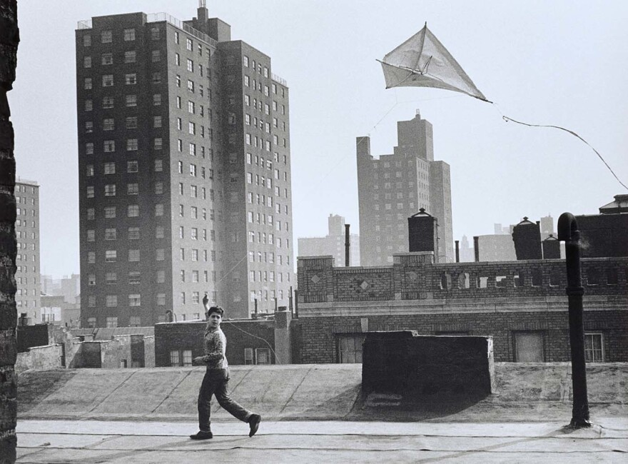 """Kite Flying on Rooftop,"" 1964"