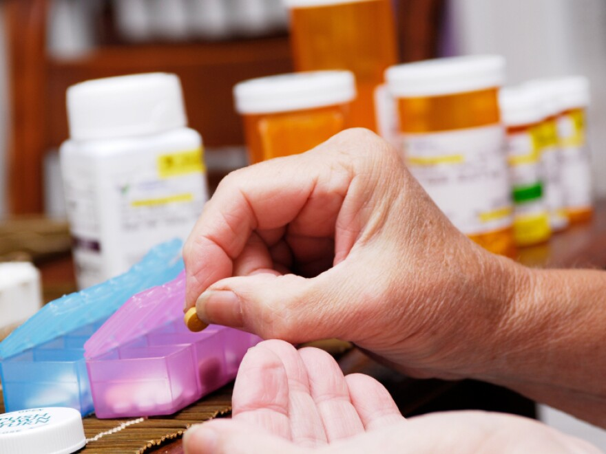 Study participants were trained in practical reasoning skills like managing medications.