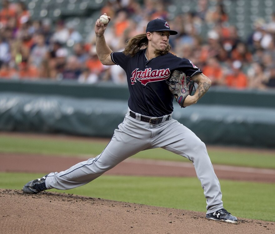 a photo of Mike Clevinger