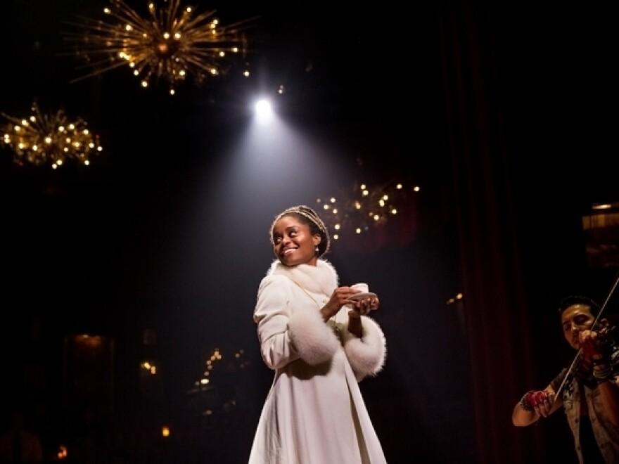 Denée Benton stars in the multiple-nominee hit Broadway musical <em>Natasha, Pierre & The Great Comet Of 1812. </em>