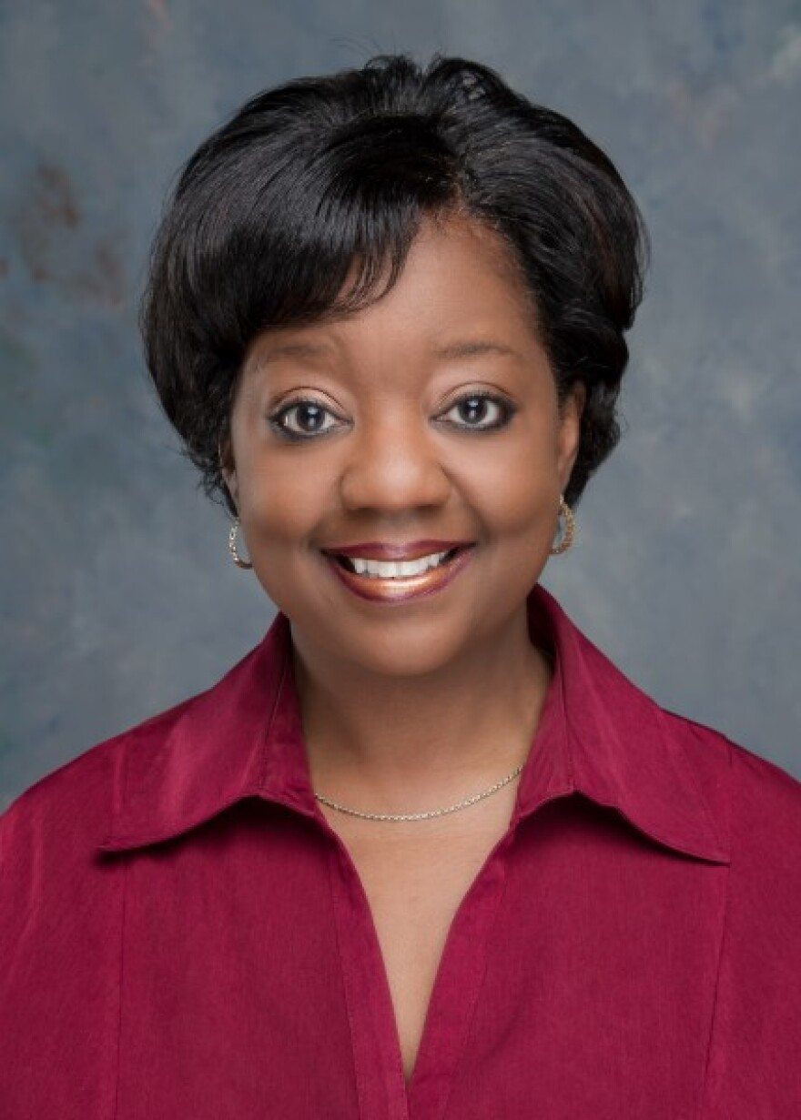 Timisha Barnes-Jones, principal of West Charlotte High School.