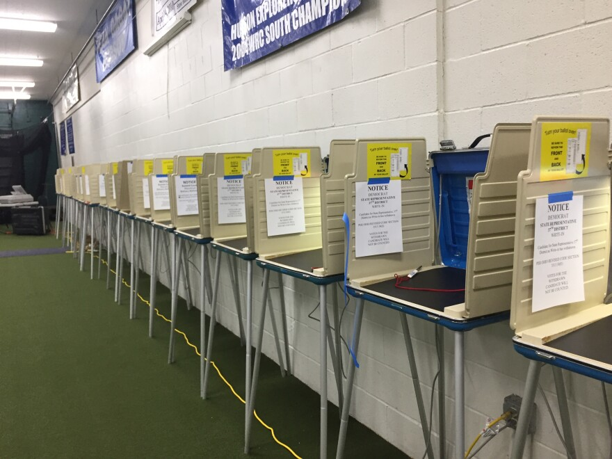 photo of polling site