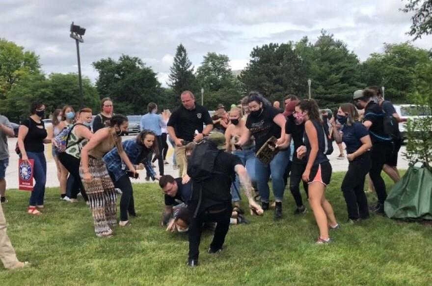 capitol protest arrests