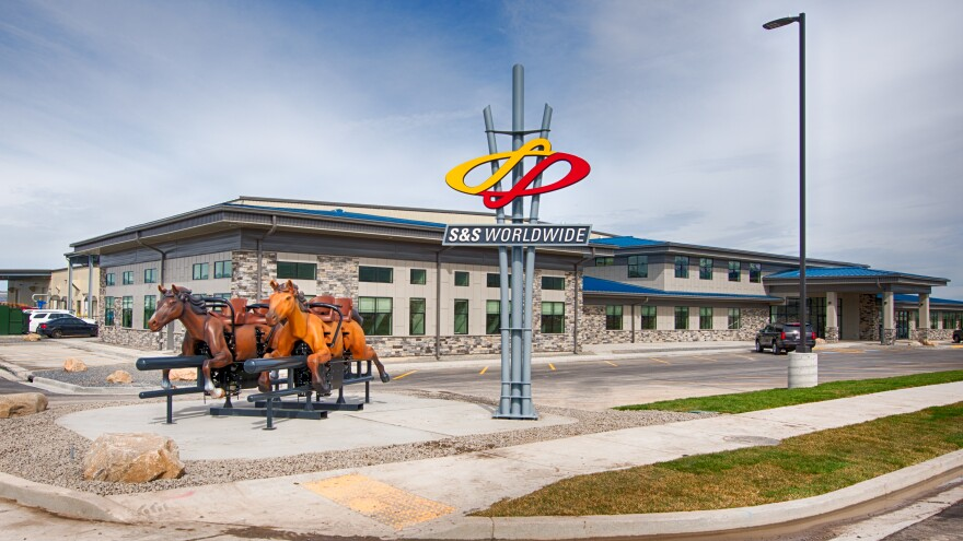 S&S Worldwide in North Logan, Utah, is one of this country's largest amusement park ride manufacturers. Business has been hurt since tariffs were placed on ride parts exported to China.