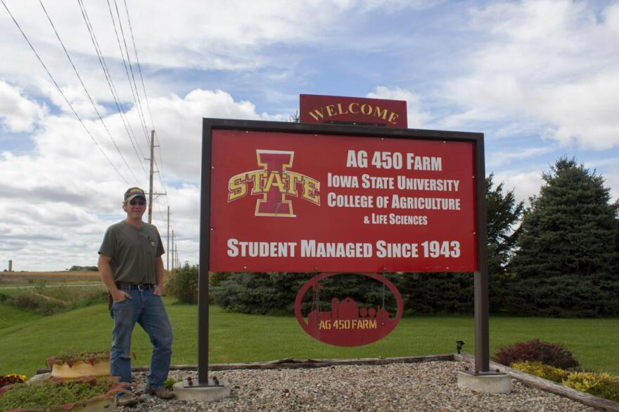 After working on a family farm near where he grew up for many years, McEnany took a job in August on the student-managed farm at Iowa State University, which he was a part of while in school.