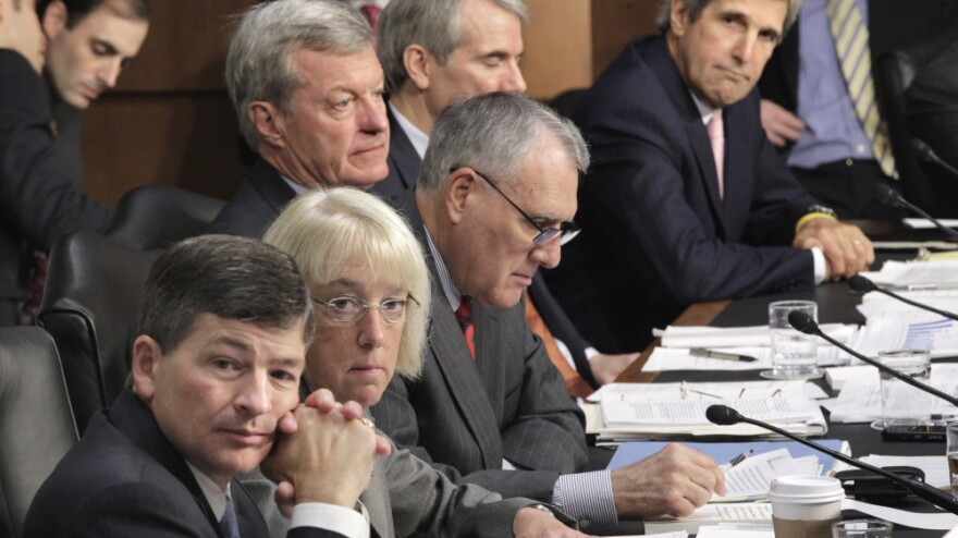 <p>The debt reduction supercommittee had its first public meeting Tuesday. It would take at least seven of the supercommittee's politically divided members to approve any plan they come up with. </p>