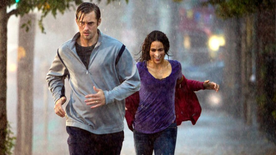 Derek (Alexander Skarsgard) and wife Cindy (Paula Patton) are sandbagged by online identity thieves who steal their credit information — even as they're still grappling with the death of their young son.