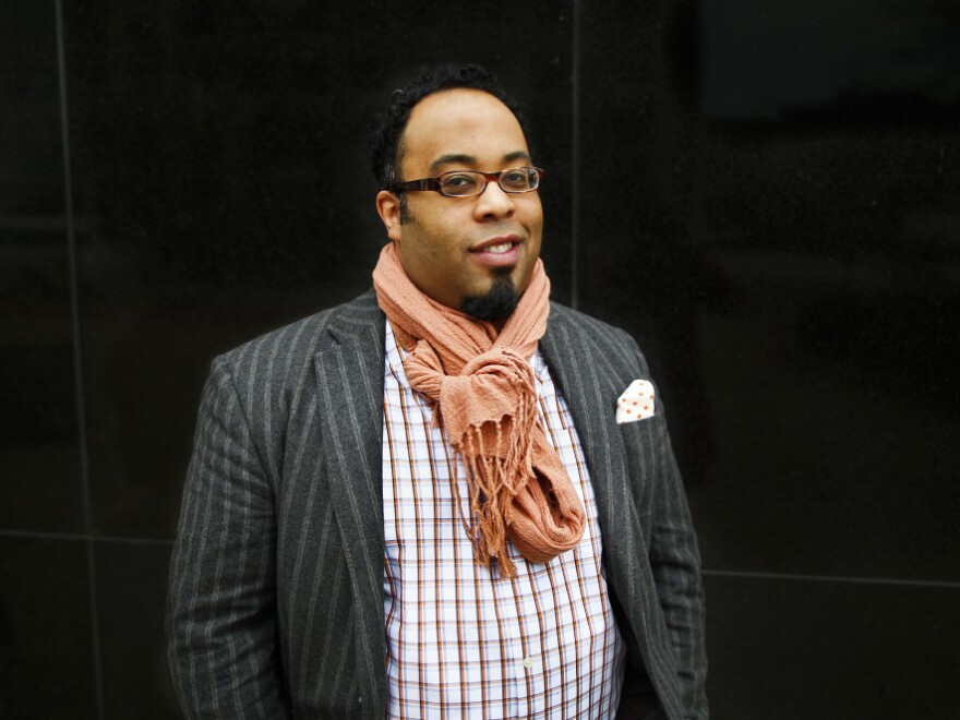 Poet Kevin Young is a curator at Emory University's Raymond Danowski Poetry Library.