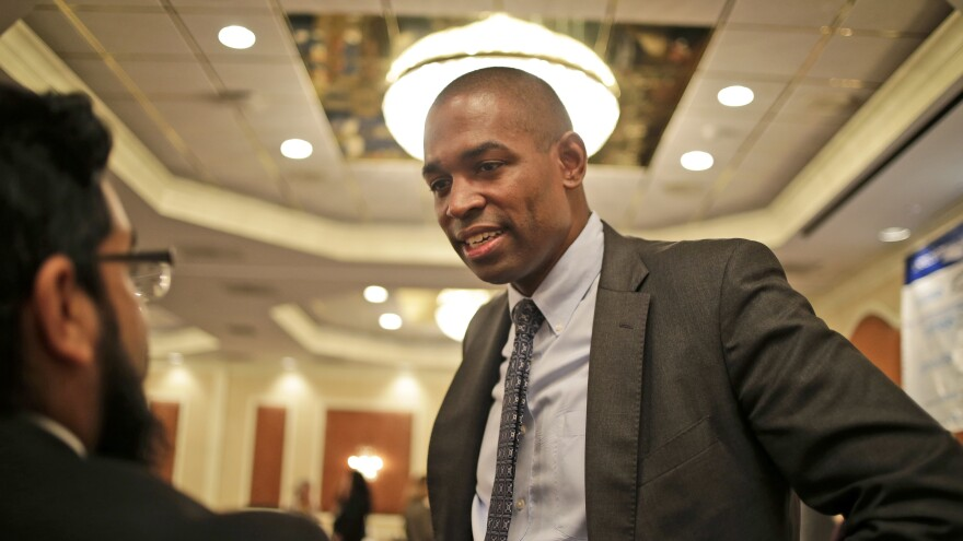 Antonio Delgado is one of many Democrats making health care the centerpiece of their campaigns.