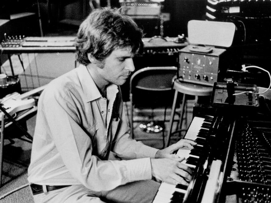 Creedence Clearwater Revival's John Fogerty in the studio in 1969.
