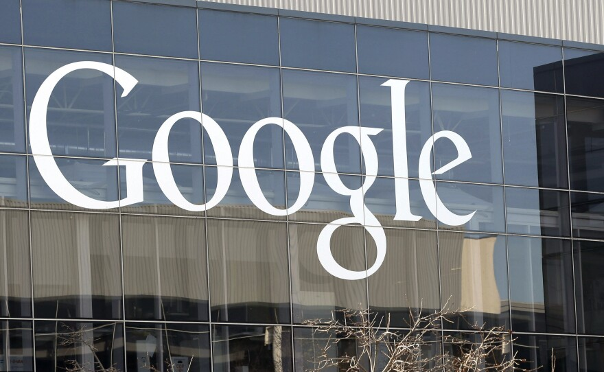 Google's headquarters in Mountain View, Calif. On Wednesday, members of the company's prominent Ethical AI research team wrote a letter to Google CEO Sundar Pichai asking that ousted researcher Timnit Gebru be rehired.