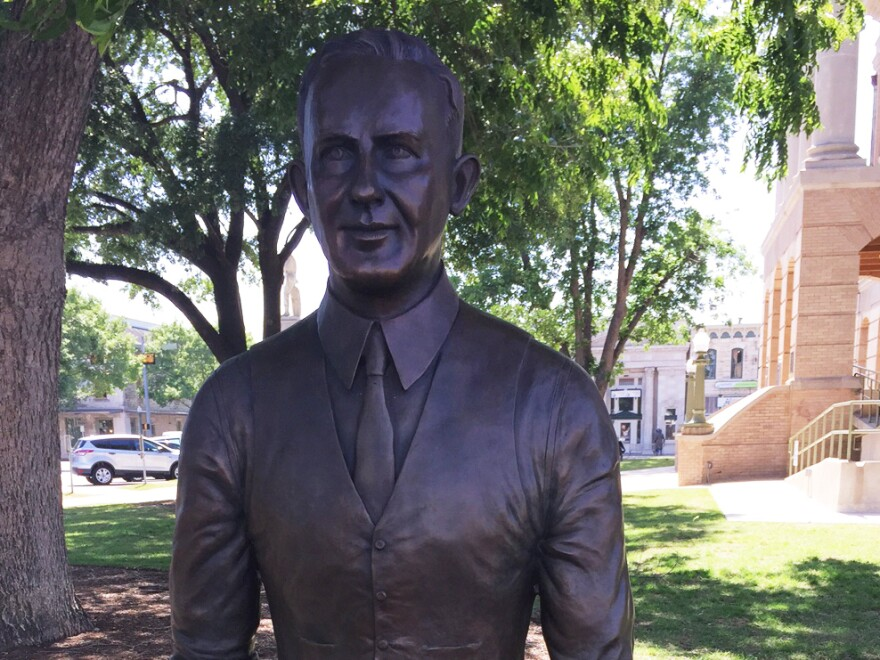 Amid calls to remove a confederate statue, Georgetown, Texas erected a monument to Dan Moody, a lawyer who charged and convicted four members of the local KKK in the 1920s.