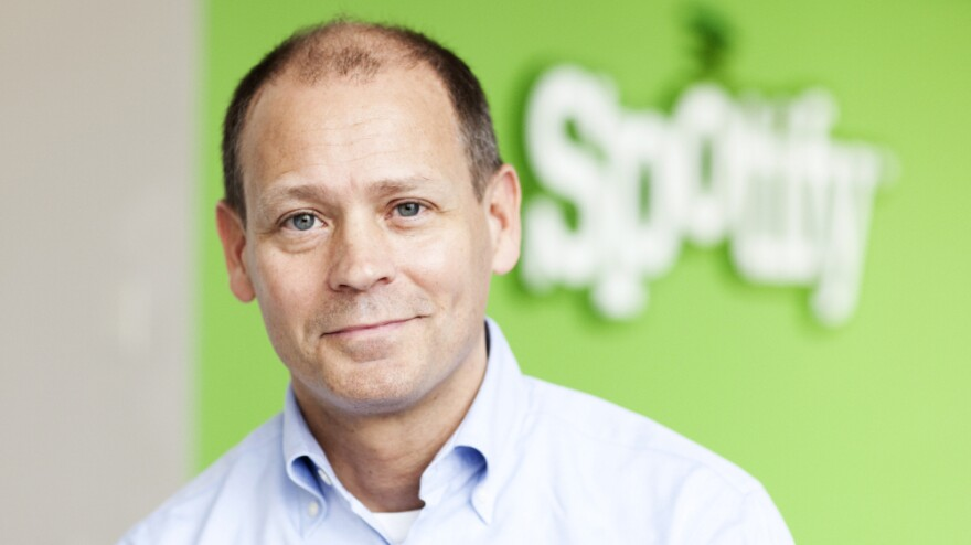 """<p><strong>Ken Parks, head of Spotify's New York office:</strong> """"With a streaming service like Spotify that gives you access to everything in the world instantaneously, those distinctions between ownership and access tend to disappear.""""</p>"""