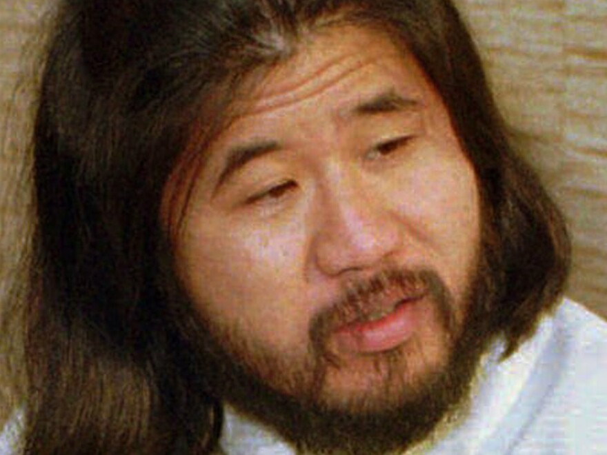 In Shoko Asahara's eight-year trial, he spoke incoherently and never explained the motive for the attacks or acknowledged responsibility. He is seen here in 1989 in Bonn, Germany.
