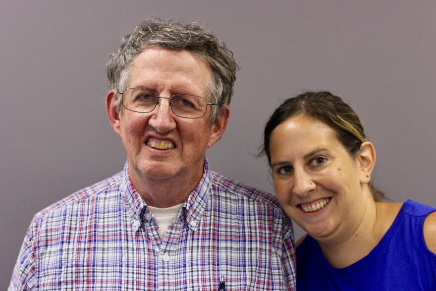 Bill Wells and Cara Arnold